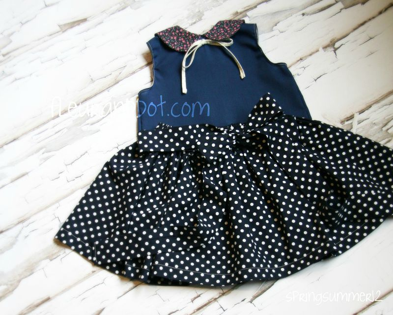 The Extra Full Polka Dot Skirt from the Fleur + Dot SpringSummer12 Collection - product images  of