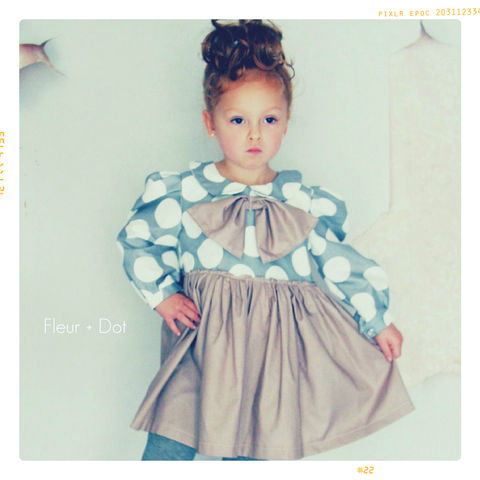 My,Petite,Dot,Girls,Dress,with,Peter,Pan,Collar,and,Bow,from,Fleur,+,Autumn,Winter,12,Collection,dress, girl, baby, polka dot, skirt, bow, bow dress, girl dress, peter pan collar, peter pan collar dress, fall, autumn, winter, fleur + dot, fleur and dot, fleuranddot, purple, grey, white, mauve, paris, parisian