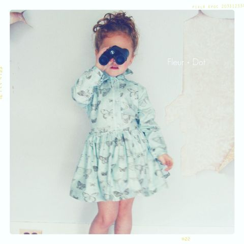 The,Butterfly,Shirtdress,Girls,Dress,with,Attached,Sash,from,Fleur,+,Dot,Autumn,Winter,12,Collection,dress, girl, baby, shirtdress, butterfly, blue, butterfly dress, shirt dress, collared dress, bow dress, girl dress, peter pan collar, peter pan collar dress, fall, autumn, winter, fleur + dot, fleur and dot, fleuranddot, purple, grey, white, mauve, paris