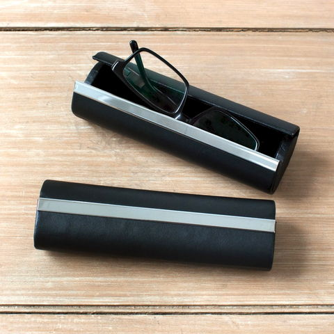 Modern,Glasses,Case,black, leather, glasses, case, spectacle, mens, ladies