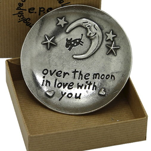 Over The Moon In Love With You Trinket Dish - product image