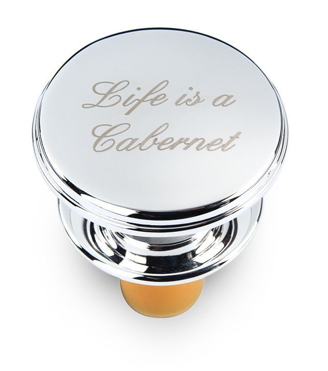 Quot Life Is A Cabernet Quot Bottle Stopper Simply Special Gifts