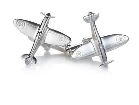 Sterling,Silver,Spitfire,Cufflinks,sterling, real, silver, airplane, spitfire, flying, aeroplane, cuffllnks, hallmarked, gift, for, men, sport, valentines, anniversary,