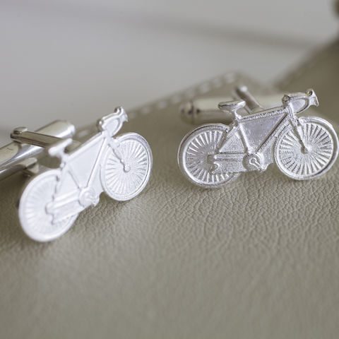 Sterling,Silver,Racing,Bike,Cufflinks,sterling, real, silver, cycling, bike, bicycle, racing, cufflinks, hallmarked, gift, for, men, sport, valentines, anniversary,