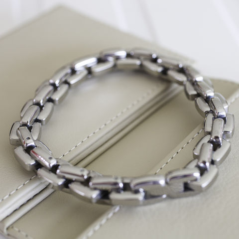 Steel,Square,Link,Bracelet,mens, stainless, steel, nickel, bracelet, teenager, gift