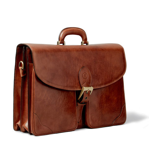 Large,Leather,Briefcase