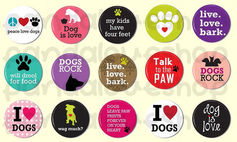 15,Dog,Lover,Animal,Pinback,Buttons,-,1,inch,25mm,Flat,Back,Cabochons,Accessories,Pinback_Button,1_inch_25mm,pinback_button,wholesale,flat_back_cabochon,humor_saying,pin_back_flatback,fridge_magnet,pet_animal_lover,party_favors,dog_is_love_heart,woof_bark,puppy_dog_pet,live_love_bark,paper,mylar,metal,graphics,pinbac