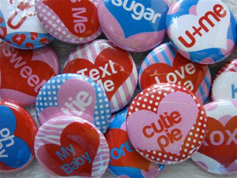 Valentine,Day,Conversation,Hearts,-,Pinback,Buttons,or,Flat,Back,Cabochons,Set,of,15,Kawaii,1,inch,25mm,Round,Supplies,Cabochon,valentine_day_vday,conversation_hearts,i_love_you,flat_back_cabochons,pinback_buttons,cute_kawaii_japanese,preppy_girly,hearts_love,pink,red,handmade_wholesale,hair_bow_supplies,Black_Friday_Etsy,paper,mylar,graphics,metal
