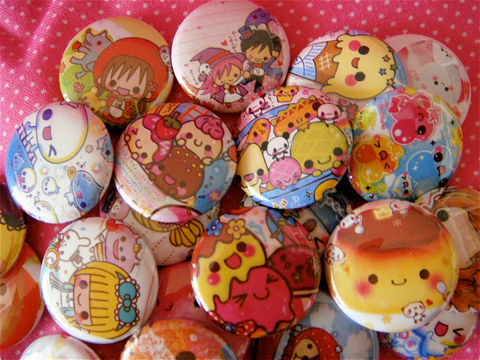 5,Kawaii,Pinback,Buttons,-,Grab,Bag,Party,Favors,Accessories,Pinback_Button,Geek,kawaii,cute,pinback_button,set,grab_bag,lot,japanese_stationery,badge,magnet,pin,buttons,asian,kawaii_buttons,paper,mylar,metal,graphics,pinbacks