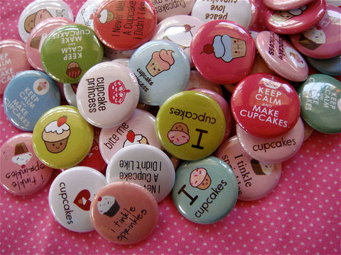 Cupcake,Love,Pinback,Buttons,-,Set,of,48,1,inch,Party,Favors,Accessories,Pinback_Button,Humor,buttons,kawaii,flat_back_cabochon,flatback,bottle_cap_bottlecap,1_inch_25mm_round,cute_kawaii,pinback_button,food_sweet_dessert,kawaii_grab_bag,party_favor,cupcake_love,keep_calm_cupcakes,paper,mylar,metal,graphics,pinback