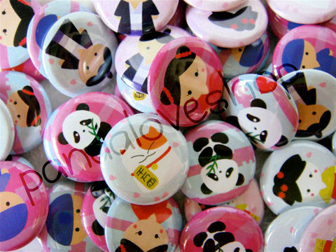 Kawaii,Chibis,and,Pandas,-,Set,of,48,1,inch,Pinback,Buttons,or,Flat,Back,Accessories,Pinback_Button,Humor,grab_bag,buttons,kawaii,flat_back_cabochon,flatback_charm_cab,cute_pinback,pinback_button,kawaii_grab_bag,cute_kawaii_japanese,1_inch_25mm_round,panda_bear,asian_girl_geisha,lucky_cat,paper,mylar,metal,graphics,pinbacks