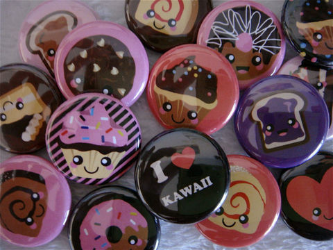 Kawaii,Sweets,and,Desserts,-,Set,of,15,1,inch,Flat,Back,Cabochons,or,Pinback,Buttons,Supplies,Cabochon,kawaii_grab_bag,cute_kawaii_japanese,flat_back_cabochon,hair_bow_supplies,pinback_buttons,bottlecap_bottle_cap,sweets_desserts,cake_donut_sprinkle,cameo_deco_lolita,i_love_kawaii,peanut_butter_jelly,heart_love,pink_black_stripes,paper,my