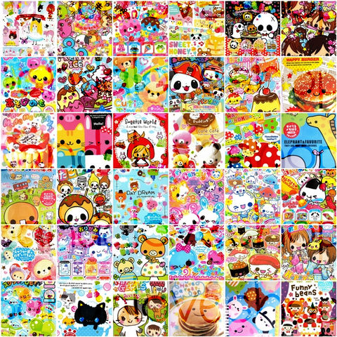 Kawaii,Large,Memo,Sheet,Grab,Bag,(100pc),Japanese,Stationery,Mix,Lot,kawaii_grab_bag, kawaii_memo, kawaii_lot, kawaii_mix, japanese, cute, stationery, supplies, kamio, crux, memo_pad