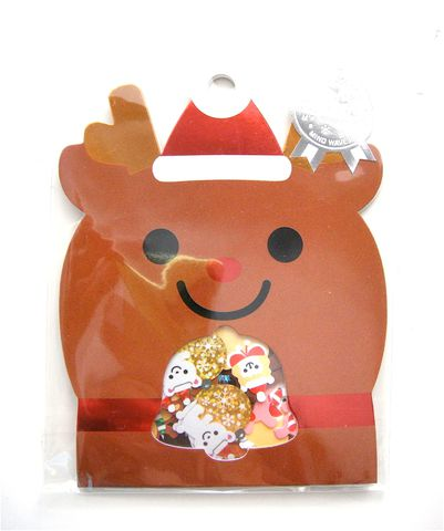 Mind,Wave,Reindeer,Sticker,Sack,sticker_sack, kawaii_stickers, sticker_flakes, mind_wave, reindeer, christmas_stickers
