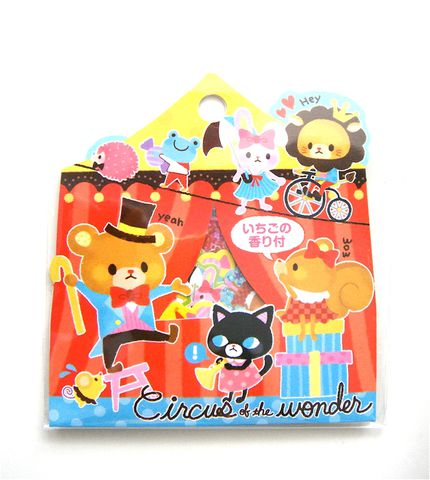 Fortissimo,Circus,of,the,Wonder,Sticker,Sack,sticker_sack, kawaii_stickers, sticker_flakes, mind_wave