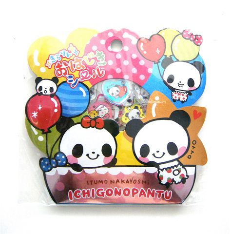 Pool,Cool,Ichigo,Pantu,PVC,Sticker,Sack,sticker_sack, kawaii_stickers, sticker_flakes, mind_wave, fairy_tale
