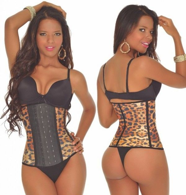 2db1cd5a3a 3 Row Active Yellow Leopard Shaper (LONG TORSO)  GREAT FOR WORKING OUT