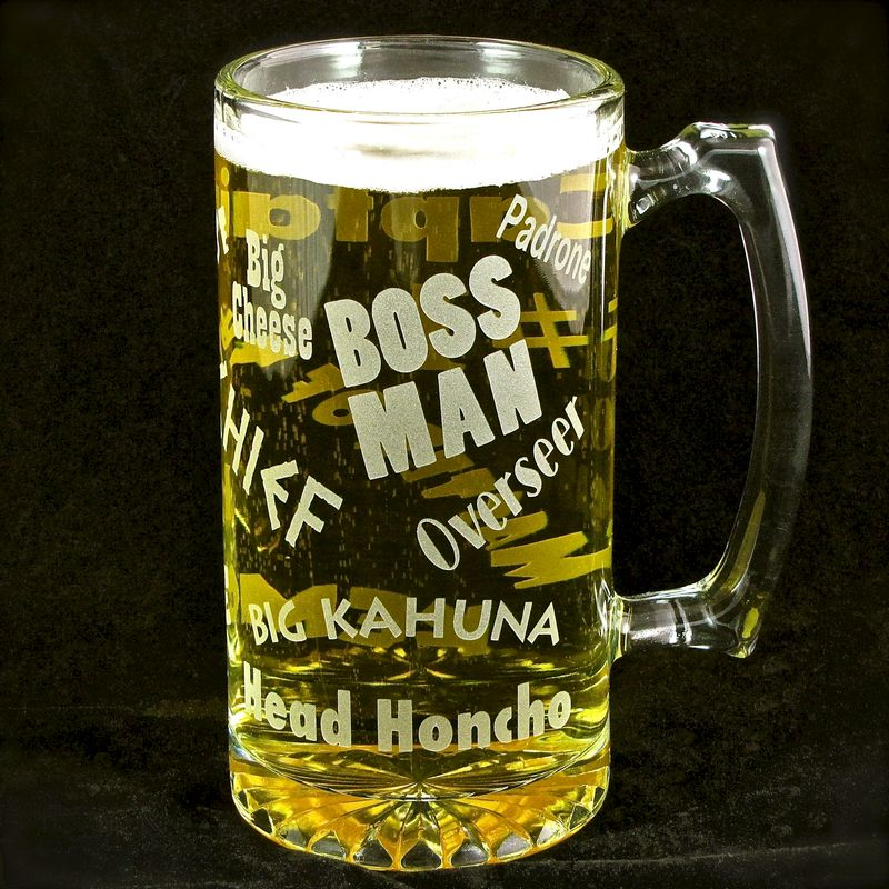 Wedding Gift For Bosss Daughter : Beer Stein, Gift for Man, Boss, Husband or Dad, Man Cave - The Wedding ...