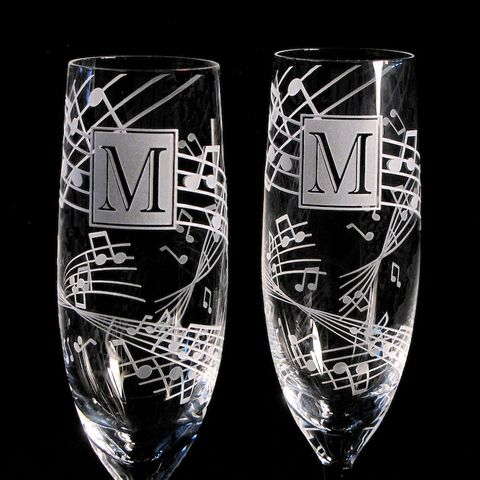 2,Music,Themed,Wedding,,Personalized,Champagne,Flutes,,Note,Wedding,Glasses,The wedding gallery, bradgoodell, Brad Goodell, music themed wedding, monogrammed champagne flutes, music note champagne glasses, personalized champagne flutes,  crystal champagne flutes, wedding toasting flutes, music note, personalized, engraved champag