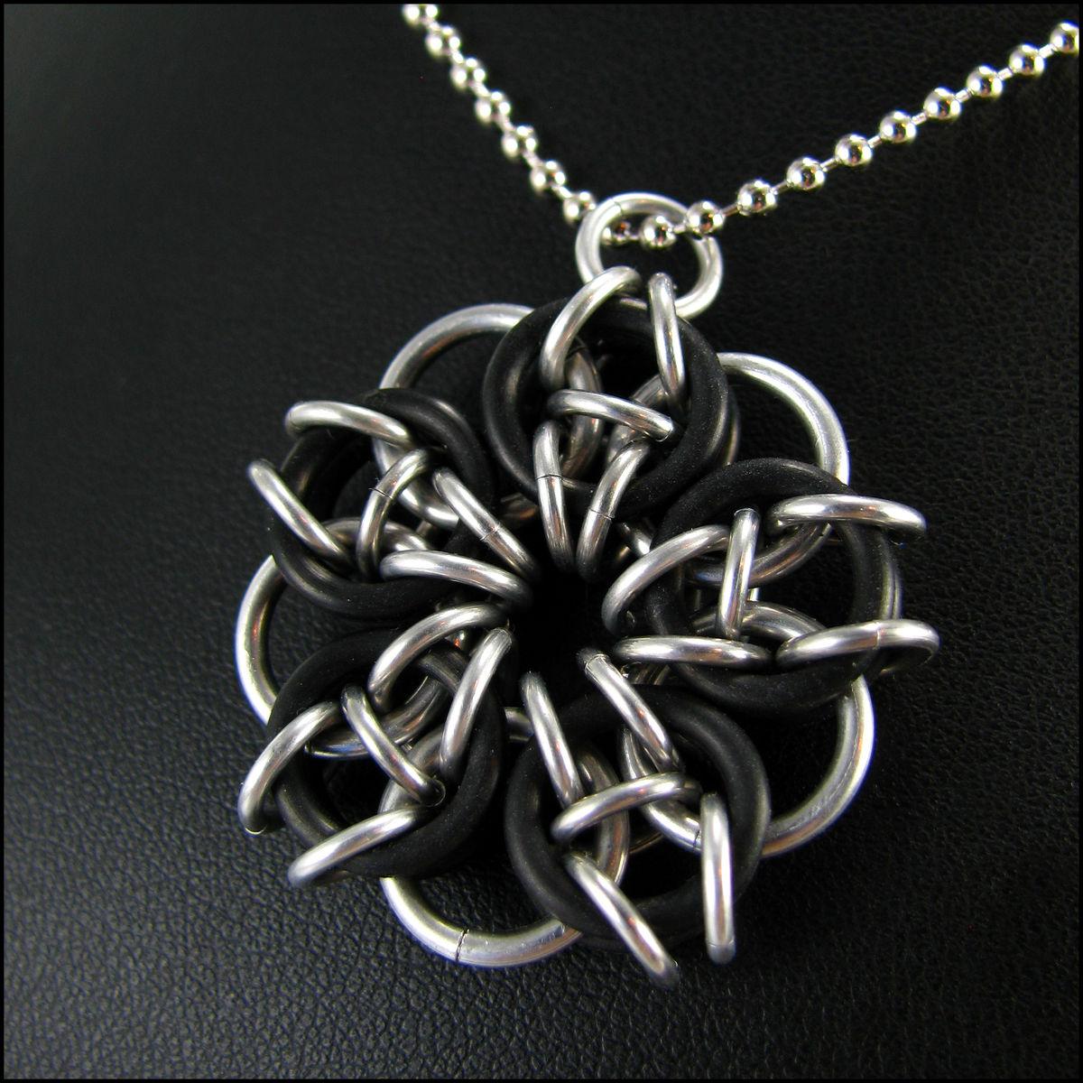 Handmade Pendant Jewelry Handmade Chainmaille Pendant
