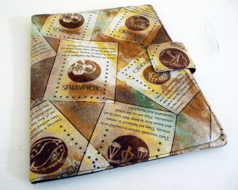 Astrology,Signs,iPad,2,Cover,,Soft,Book,Style,cotton ipad 2 cover, vegan ipad 2 cover, clearance ipad 2 cover, brown ipad 2 cover, astrology ipad 2 cover, zodiac signs ipad 2 case