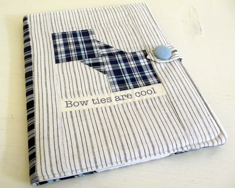 Bow,Ties,Are,Cool,iPad,2,Cover,cotton ipad 2 cover, ipad 2 cover, bow ties are cool, blue plaid ipad 2 cover, mens ipad 2 cover, geekery ipad 2 cover