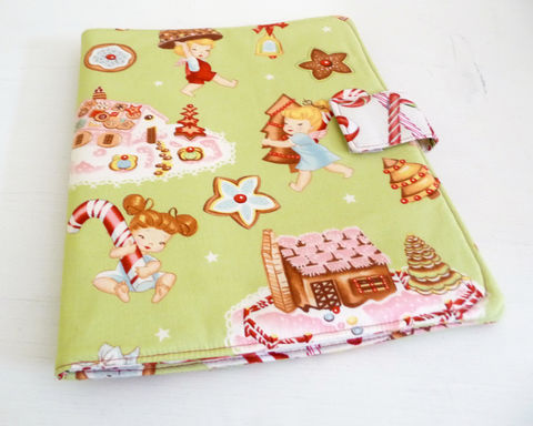 Angel,Cakes,iPad,1,Cover,,Christmas,Book,Style,Case,handmade ipad 1 cover, original ipad cover, christmas ipad 1 cover