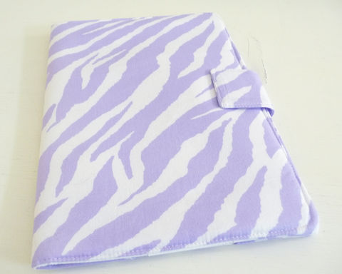 Lavender,Zebra,Print,8.9,inch,Kindle,Fire,HD,Cover,8.9in kindle fire hd cover, handmade kindle fire HD cover, lavender and white zebra, zebra print kindle fire HD cover
