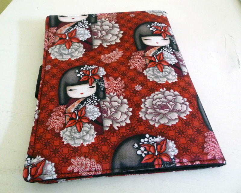 Handmade iPad Air 2 Cover | Case, Kokeshi Dolls - product images  of