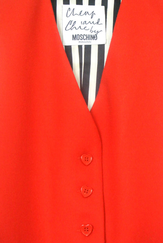 MOSCHINO VINTAGE WAISTCOAT SOLD - product image