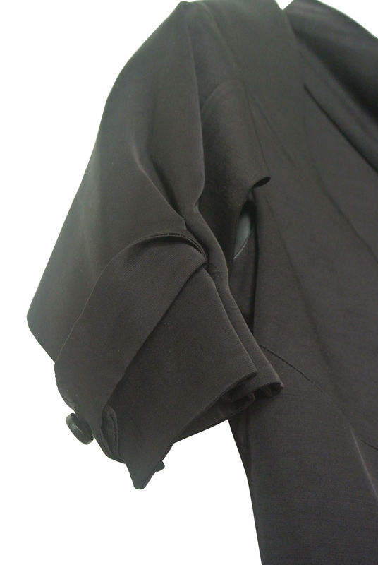 VINTAGE SATIN DECONSTRUCTED JACKET SOLD - product image