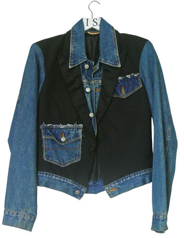 KATHERINE,HAMLET,VINTAGE,DECONSTRUCTED,DENIM,JACKET