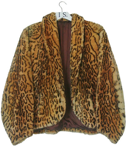 1950's,VINTAGE,LEOPARD,PRINT,FAUX,FUR,JACKET,SOLD,Fake Fur Jacket, Leopard print fake fur jacket, Vintage leopard print fake fur jacket, leopard print jacket, 1950s fake fur jacket, 1950's leopard print fake fur jacket, vintage jackets, fake fur jacket, vintage clothing, women's jackets, womenswear