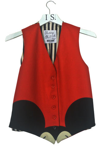 MOSCHINO,VINTAGE,WAISTCOAT,SOLD,Vintage clothing, vintage Moschino, Vintage waistcoat, Vintage Moschino waistcoat, designer waistcoat, designer vintage