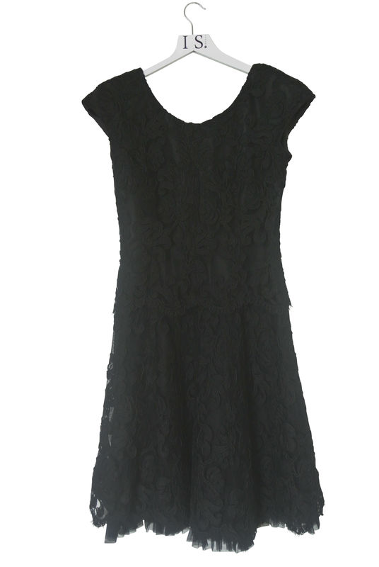 FRANK USHER VINTAGE LACE DRESS - product image