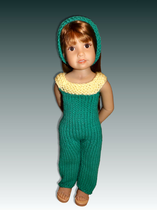 Knitting Pattern For Dolls Jumper : One piece Jumper, Knitting Pattern. Fits Kidz and Cats ...