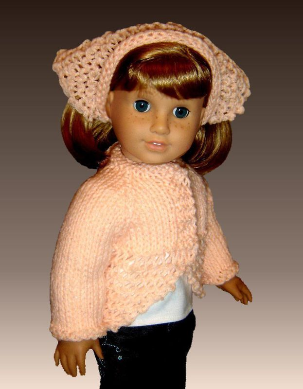 Knitting Pattern, fits American Girl and all 18 inch dolls ...