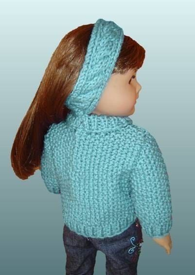 Knitting Patterns For Maplelea Dolls : 18 inch doll knitting pattern. Fits American Girl Doll ...