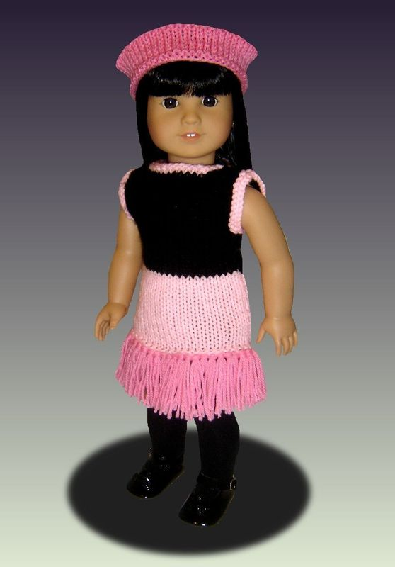 Doll clothes Pattern for American Girl, 18 inch doll. Tap Dance set, PDF, 022 - product images  of