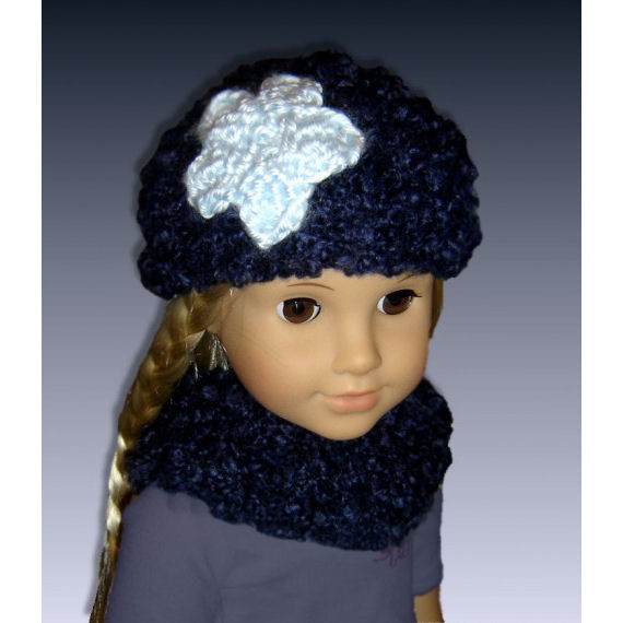 Knitting Patterns For Journey Girl Dolls : Hat knitting pattern fits 18 inch, American Girl dolls, Journey girls, PDF 10...