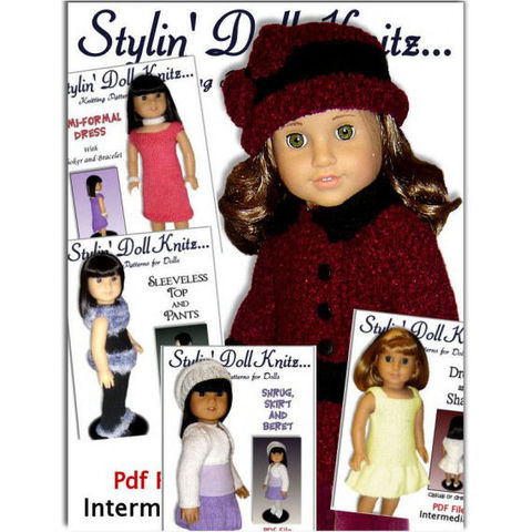 PDF,Knitting,Patterns,for,doll,clothes,,Fit,American,Girl,Doll,,18,inch,07,doll_clothes_pattern,knitting_patterns,American_Girl_Doll,Gotz,18_inch_doll,Maplelea_Girl,Doll_Clothing,Coat_and_Hat,doll_dresses,stylindollknitz,knitted_doll_clothes,easy_knit_patterns,doll_accessories,pdf,pattern