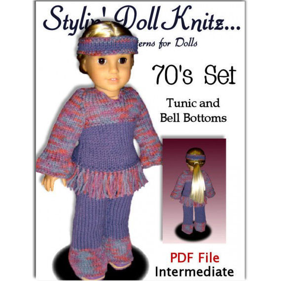 18 Inch Doll Clothes Knitting Patterns : Knitting Patterns for 18 inch and American Girl dolls. PDF, AG Clothes 06 - S...