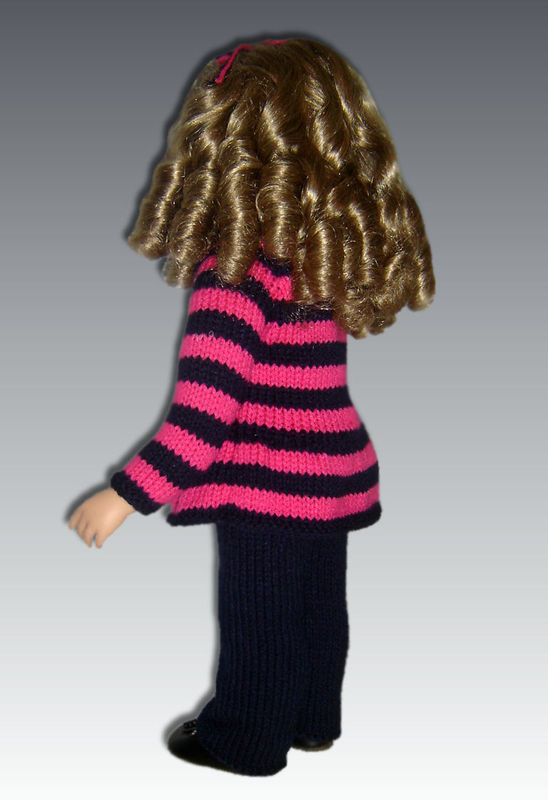 Doll Clothes knitting Pattern. Fits My Twinn (My BFF0 23 inch dolls. 648 - product images  of