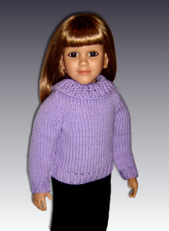 Knitting Patterns For 24 Inch Dolls : Knitting Pattern fits My Twinn (My BFF), 23 inch dolls ...