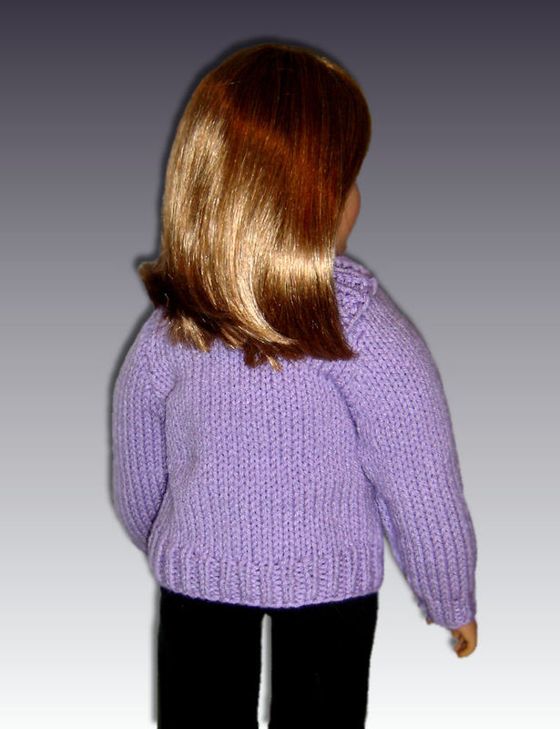 Knitting Pattern fits My Twinn (My BFF), 23 inch dolls. PDF, 649 - product images  of