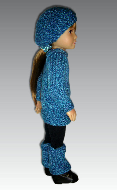 Knitting Pattern fits Kidz n Cats Dolls. Sweater, Hat, and ...
