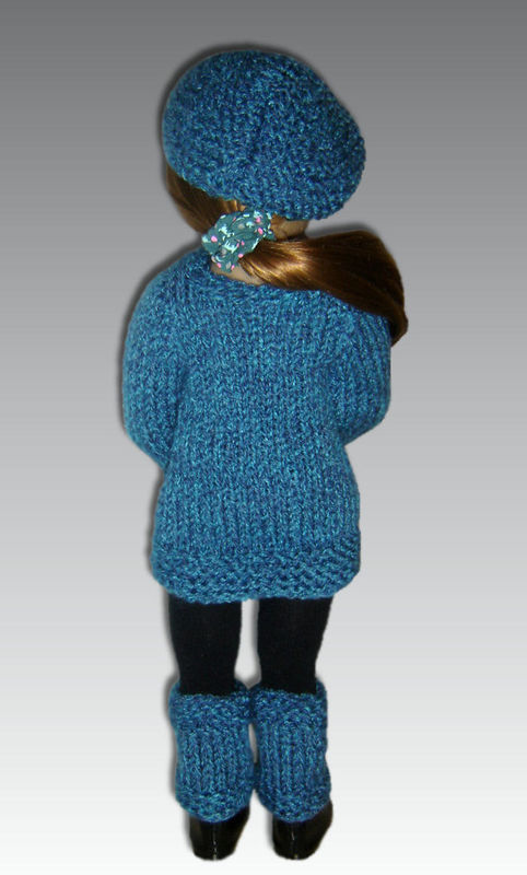 Knitting Pattern Cat Sweater : Knitting Pattern fits Kidz n Cats Dolls. Sweater, Hat, and Leggings, PDF, 451...