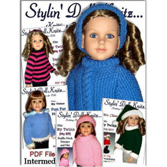 23 My Twinn doll clothes sewing patterns 3 outfits   eBay