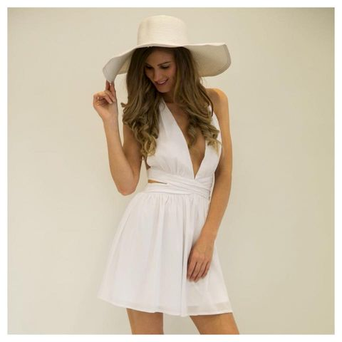 Stella,Dress,marilyn monroe costume white flowy dress boho indie festival casual white dress