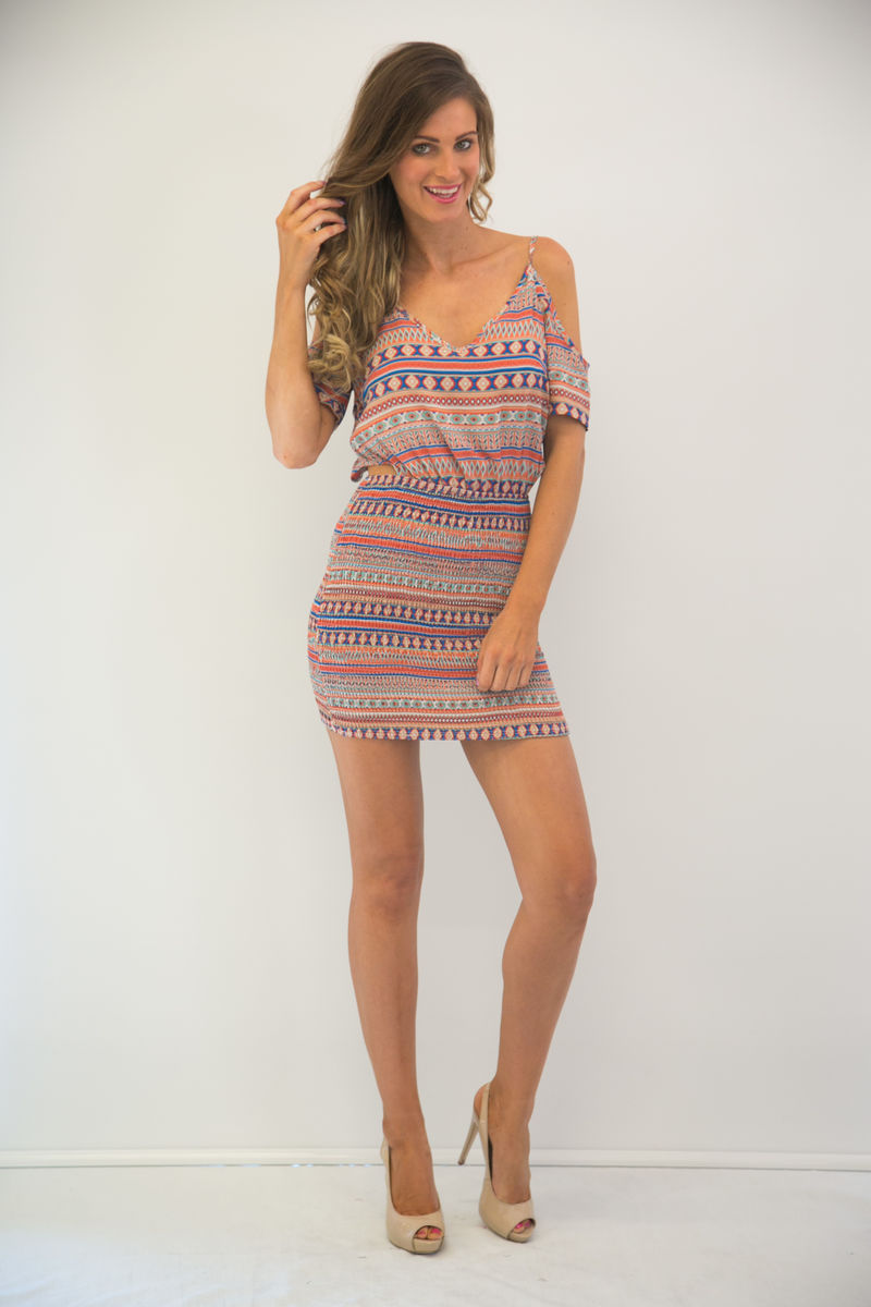 Samarah Exposed Dress - product images  of